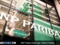 BNP Paribas Bank Logo Branch Exterior