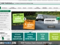 BNP Paribas Bank Website Main Page