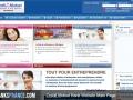 Credit Mutuel Bank Website Main Page