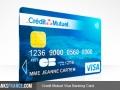 Credit Mutuel Visa Banking Card