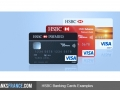 HSBC France Banking Card Examples
