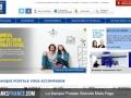 La Banque Postale Website Main Page