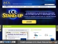 Credit Lyoannais LCL Bank website home page
