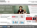 Societe Generale Bank Website Main Page